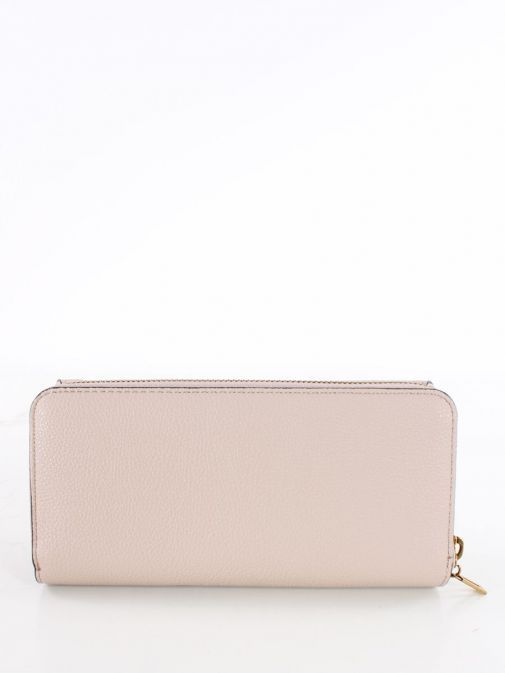 Back image of Guess Destiny Maxi Wallet in Taupe