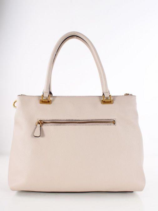 Back image of Guess Destiny Strap Shoulder Bag in Taupe