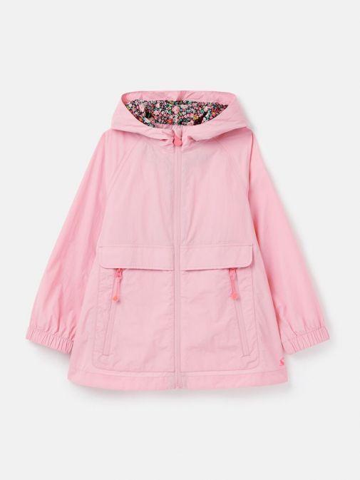 Image of  Joules Roseberry Waterproof Swing Rainmac in Pink