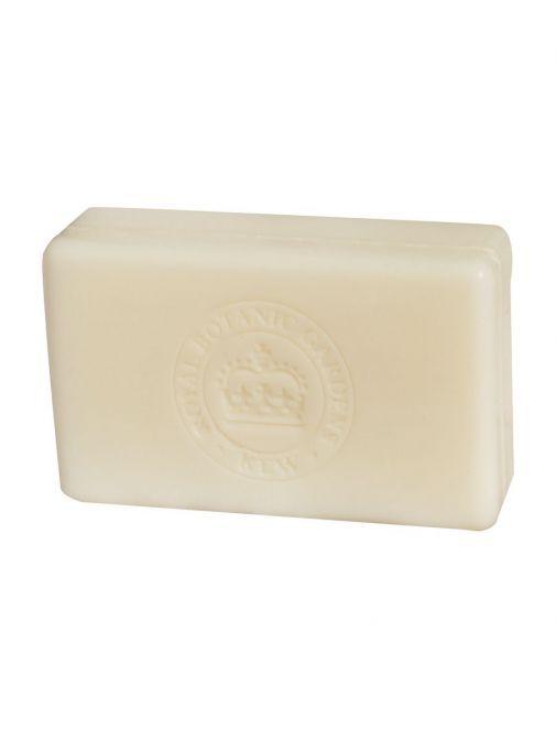 Front shot of the Kew Bergamot and Ginger Soap