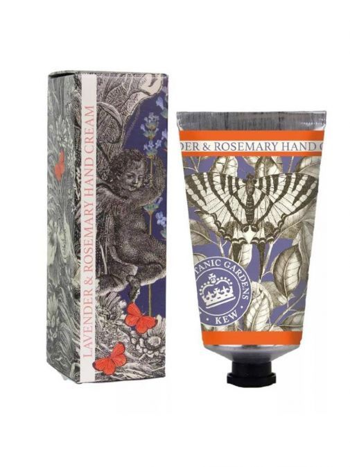 front shot of the Kew Gardens Lavender And Rosemary Hand Cream