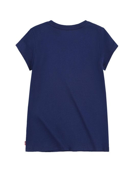 Image of back of Levis Graphic Tee in Medieval Blue