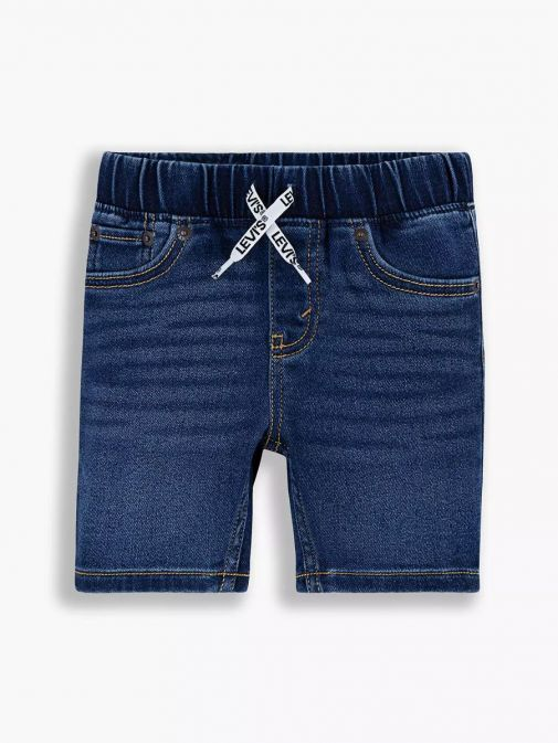 Levis Teenager Skinny Fit Shorts Mid Wash