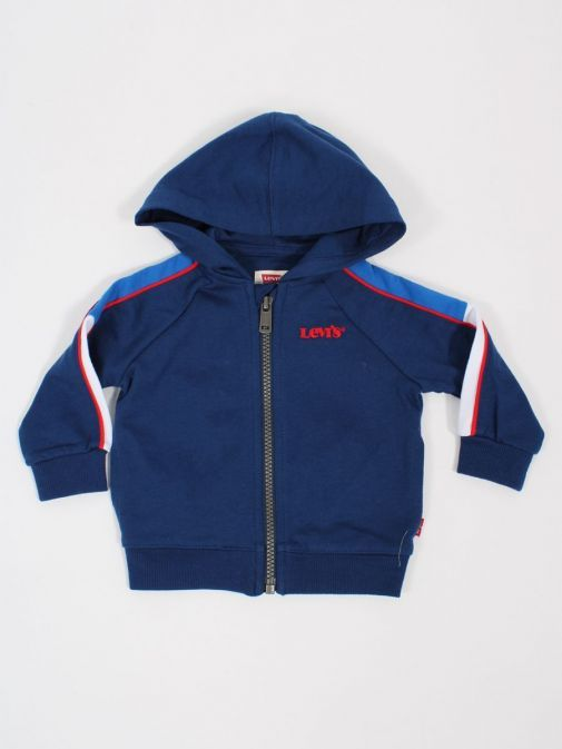 Product shot of Levis Baby Colour-Blocked Hoodie in Estate Blue