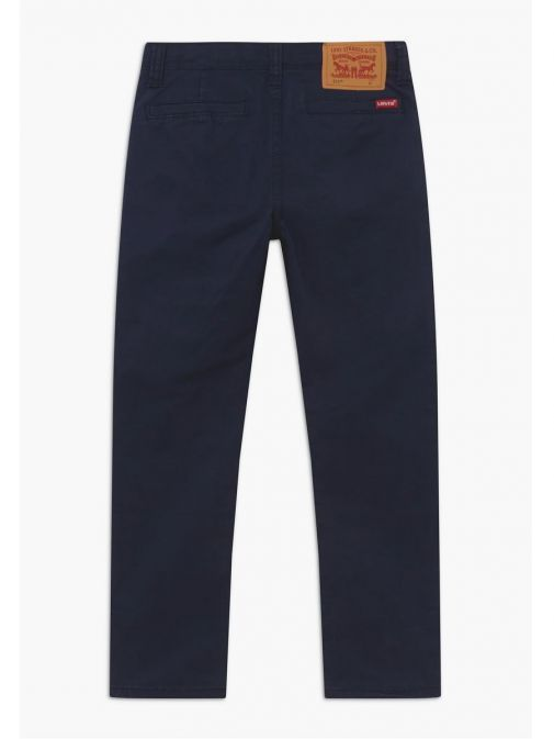 Back shot of Levis Kids 511 Slim Fit Chinos in Navy