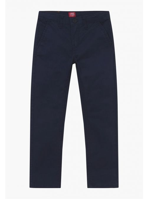 Front shot of Levis Kids 511 Slim Fit Chinos in Navy