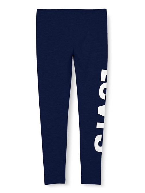 Front shot of Levis Teenager High Rise Leggings in Medieval Blue