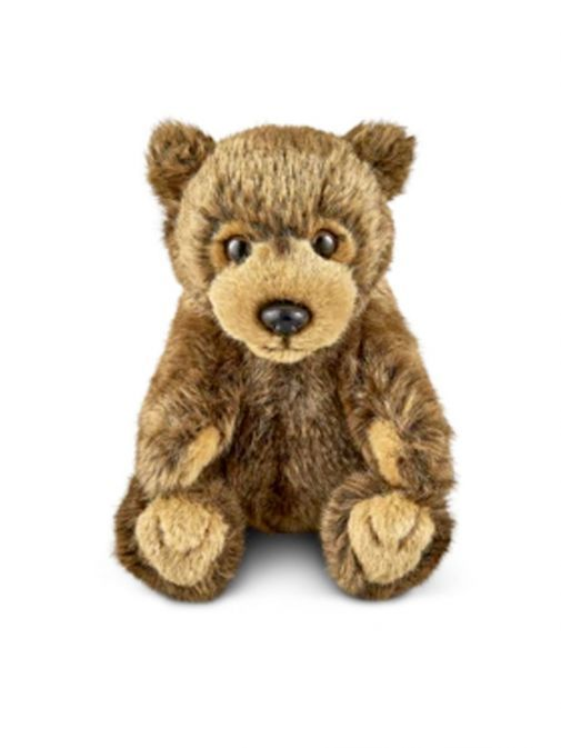 Front shot of the Living Nature Medium Brown Bear