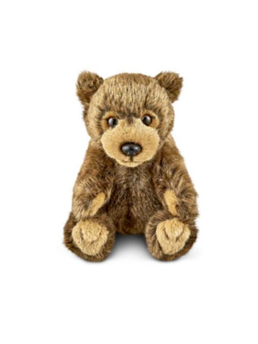 Front shot of the Living Nature Small Brown Bear