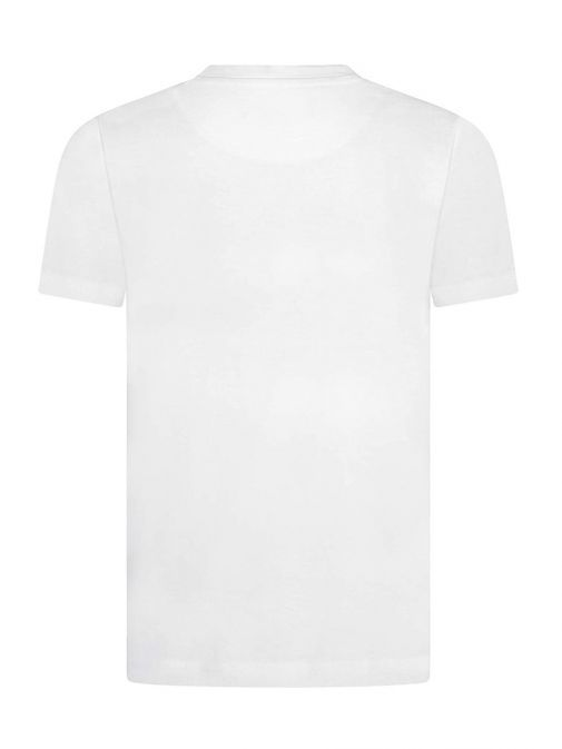 Image of back of Lyle & Scott Eagle Logo T-Shirt in Bright White
