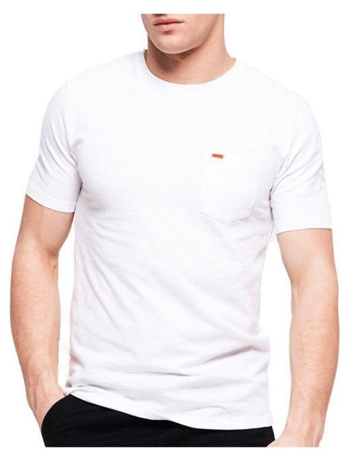 Superdry Optic White Originals Pocket T-shirt