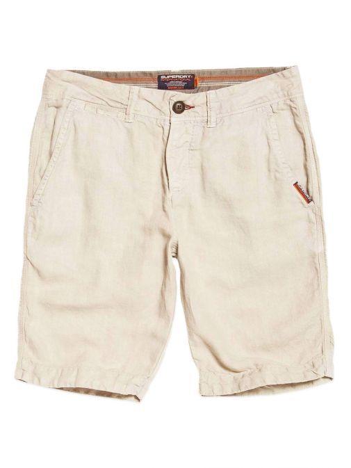 Superdry Pebble International Linen Chino Shorts M71010KT 8Q4