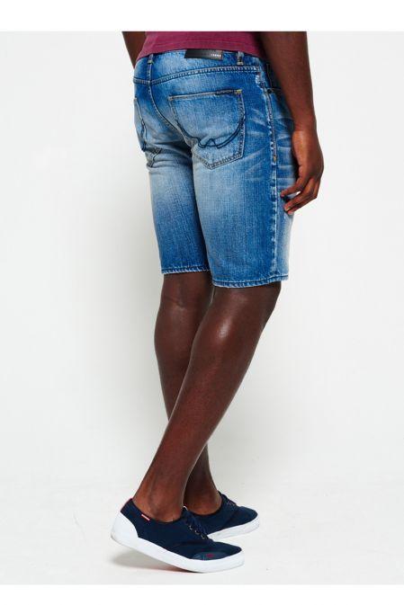 Superdry Quarry Used Officer Slim Denim Shorts