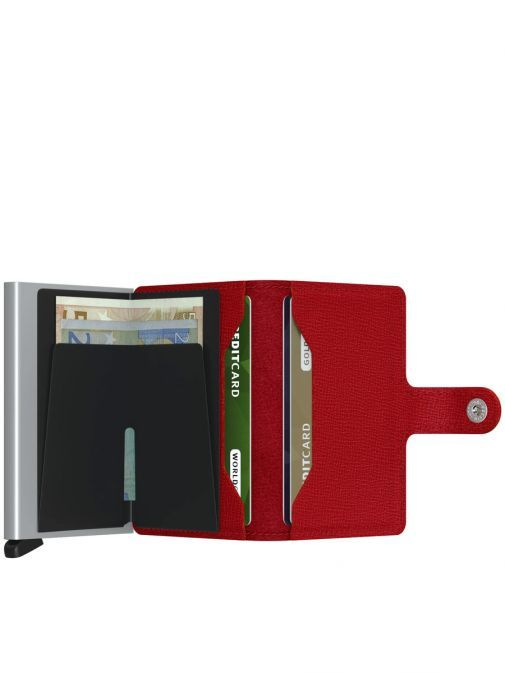 Secrid Crisple Red Miniwallet