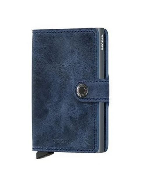 Secrid Blue Miniwallet Vintage mv-blue-blue