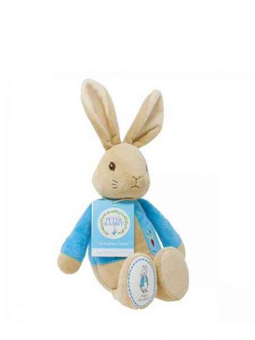 Alternative picture of My First Peter Rabbit Soft Toy wit swing tag