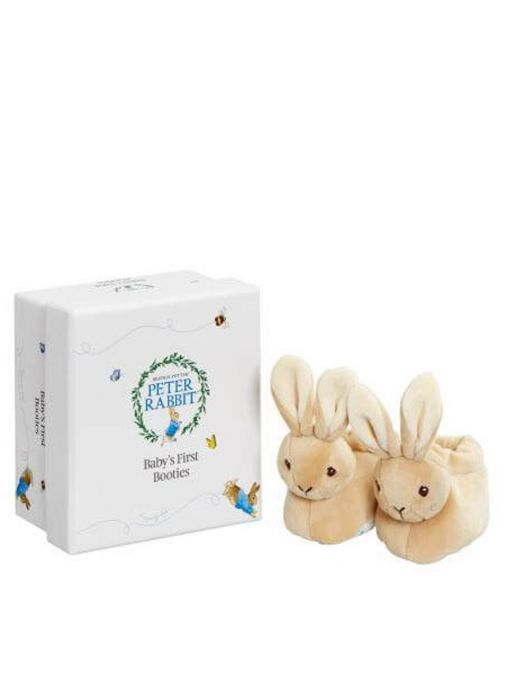 Picture of Peter Rabbit Baby's First Booties with Gift Box