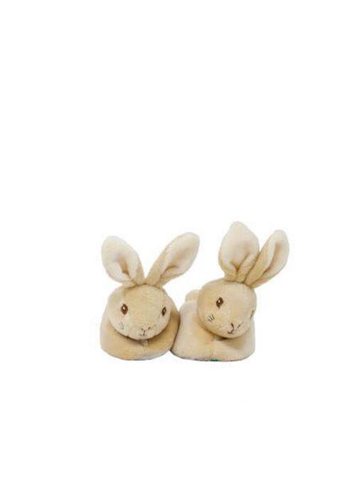 Front shot of Peter Rabbit Baby's First Booties