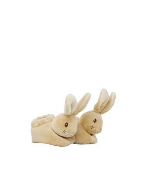 Side shot of Peter Rabbit Baby's First Booties