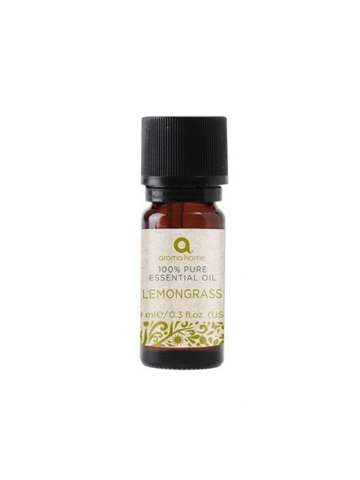 Image of bottle of Pure Essential Oil Lemongrass