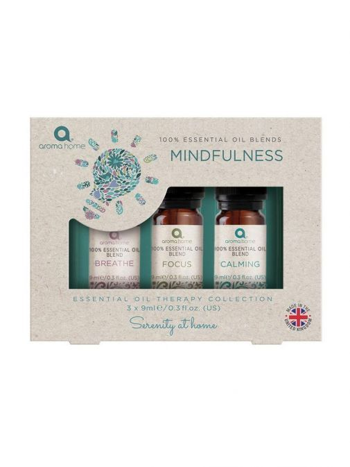 Image of Pure Essential Oils Mindfulness Set in packaging