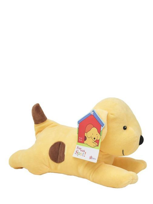 Picture of Spot the Dog Large Soft Toy with label attached to ear