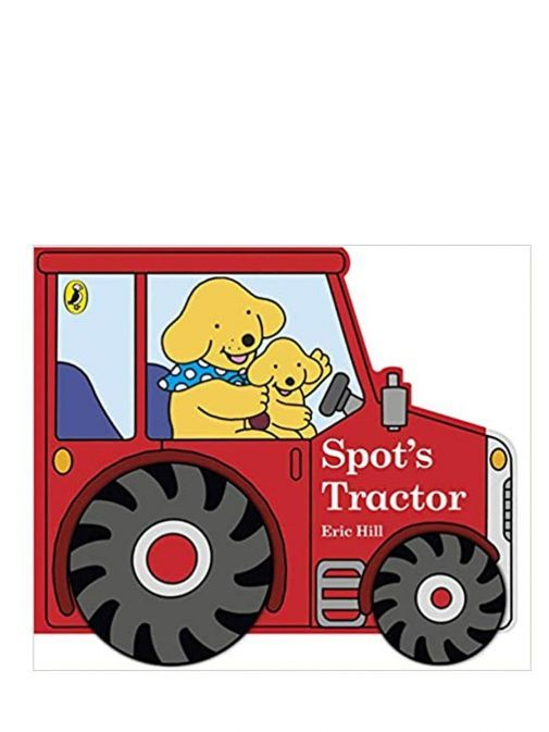 Picture of the front of Spot's Tractor Board Book