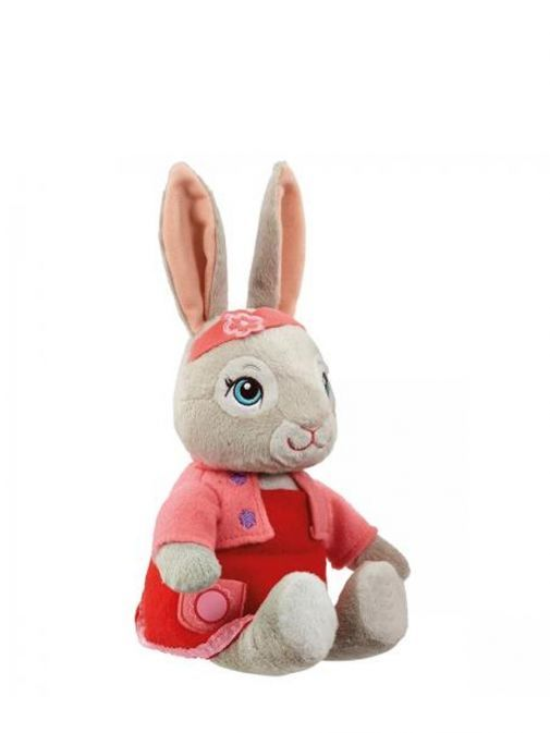 Picture of Talking Lily Bobtail Soft Toy from Peter Rabbit sitting down