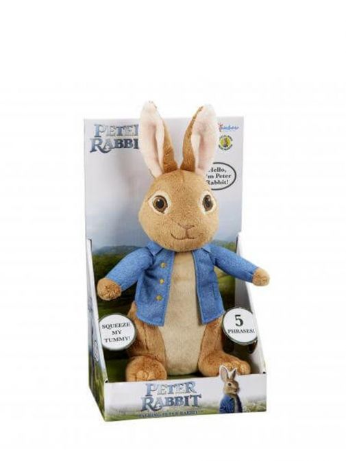Picture of Talking Peter Rabbit Soft Toy in Presentation Box
