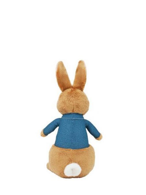 Back of Talking Peter Rabbit Soft Toy