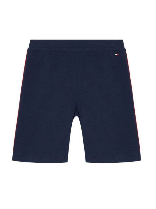 Product shot of Tommy Hilfiger Essential Cycling Shorts in Navy
