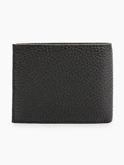 Back image of Tommy Hilfiger Downtown Mini CC Wallet in Black