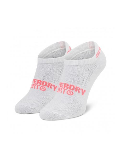 Superdry Black Grey White Coolmax Trainer Sock 3Pk Ws400011a/64L-Multi