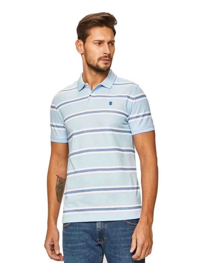 Izod Little Boy Blue Striped Slim Fit Polo Shirt