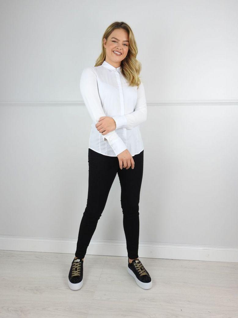 Milano White Ultimate Stretch Shirt