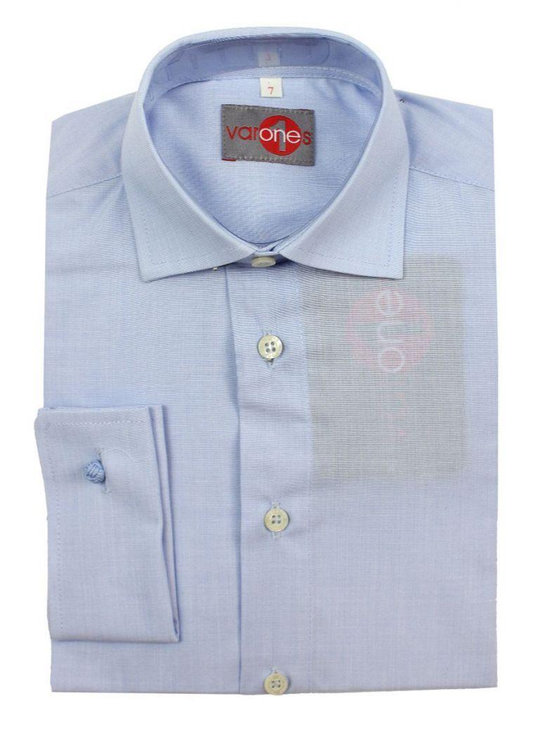 Varones Blue Long Sleeved Shirt