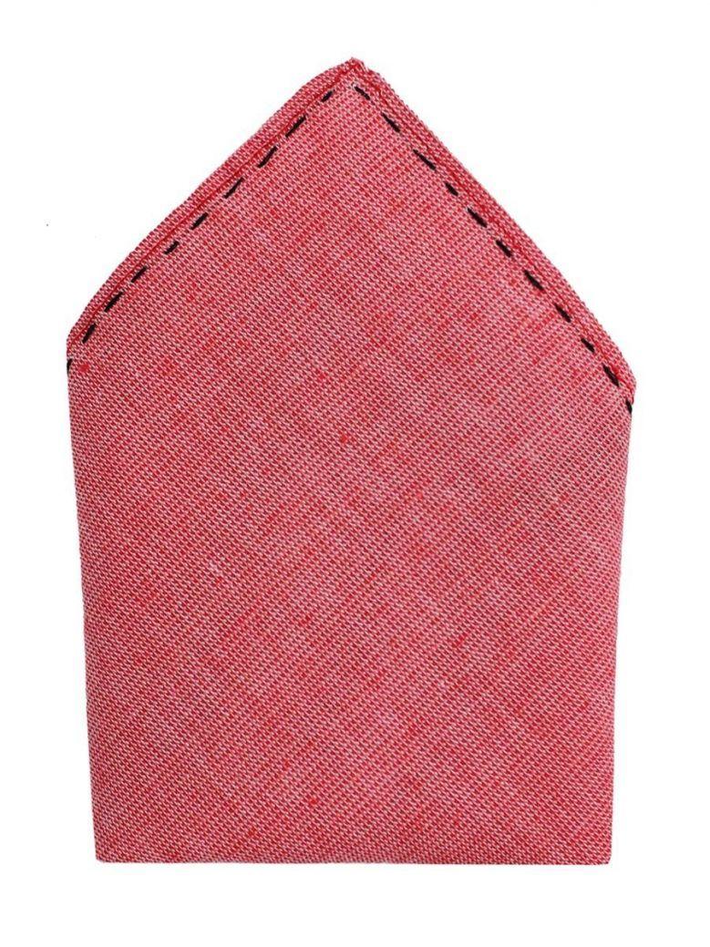 Varones Rose Pink Pocket Square