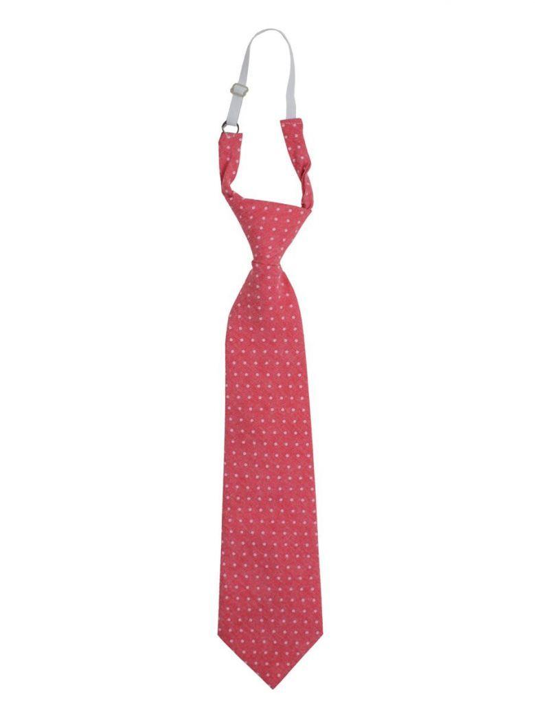 Varones Red Polka Dot Tie