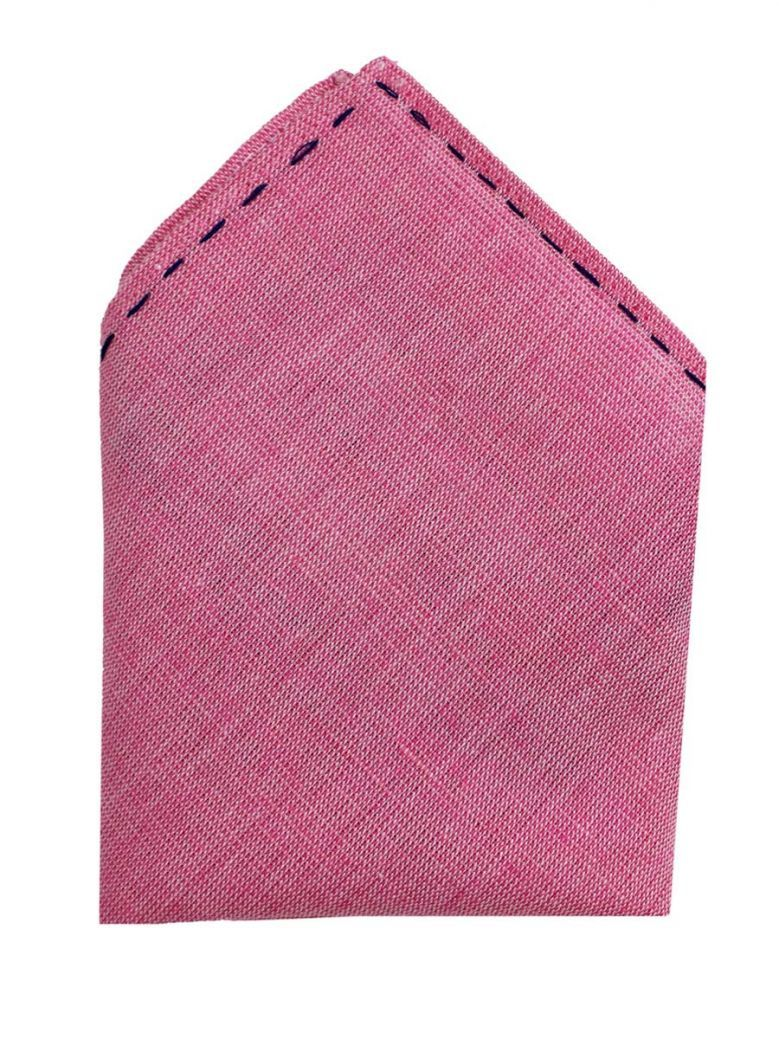 Varones Pink Pocket Square