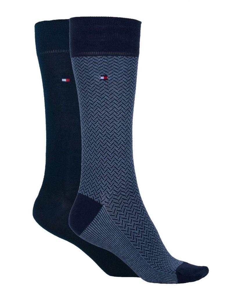 Tommy Hilfiger 2 Pack Navy Socks