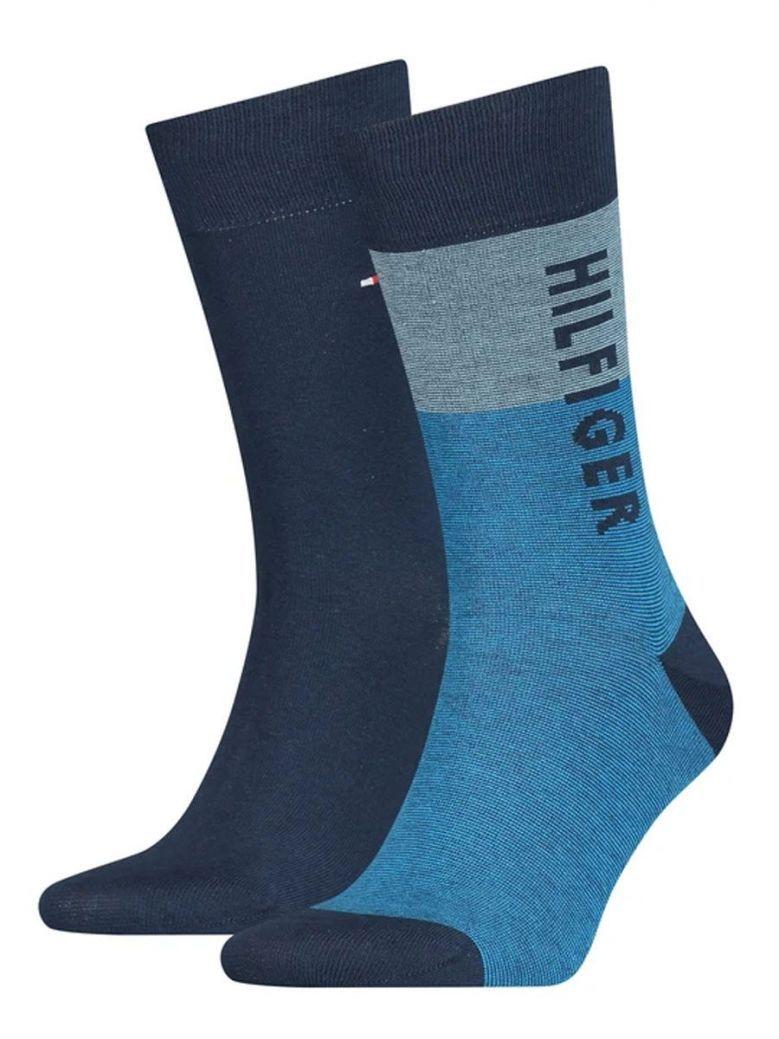Tommy Hilfiger Blue & Navy 2 Pack Socks