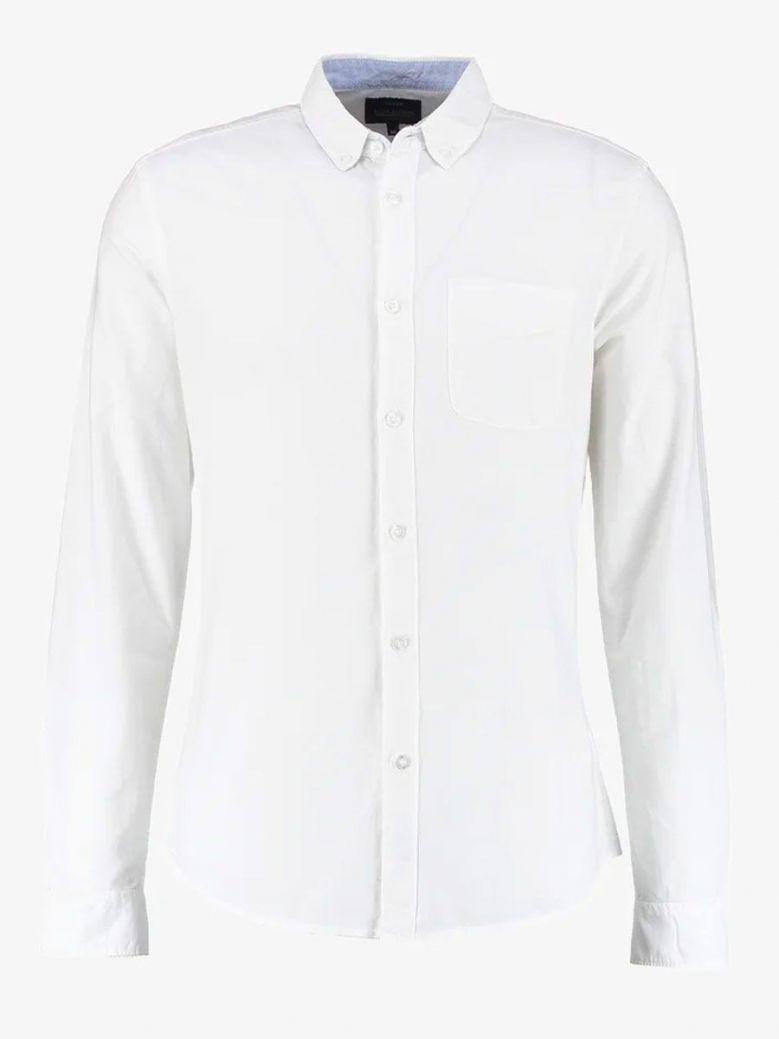 Tiffosi White Long Sleeved Shirt