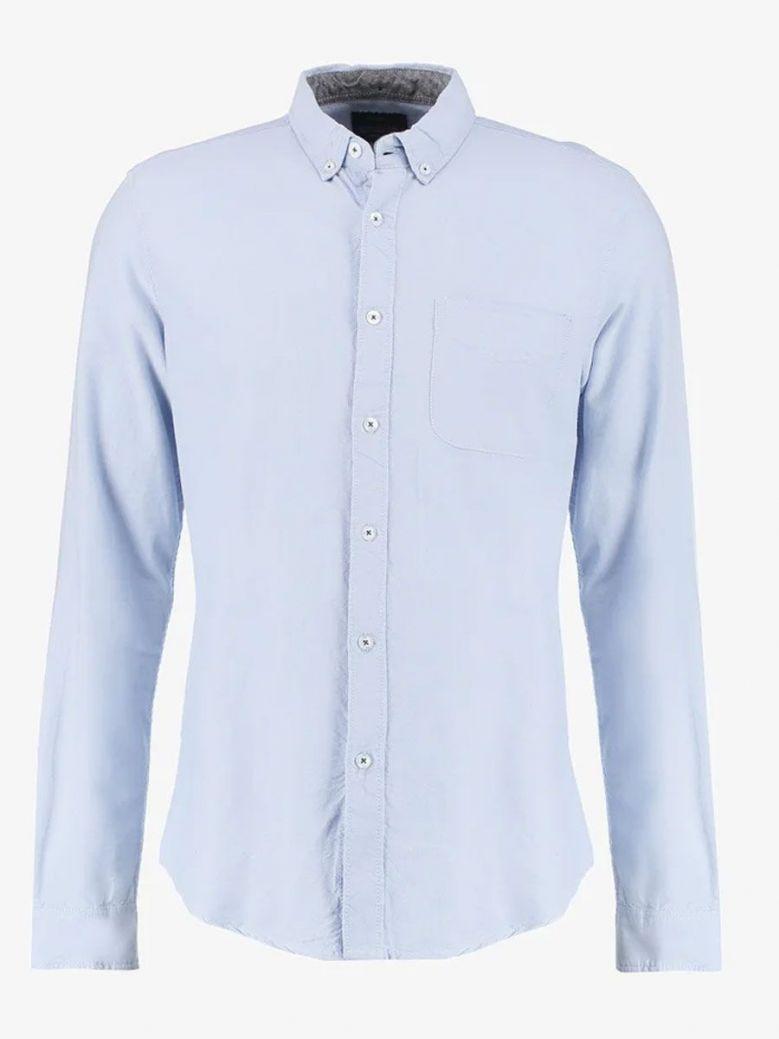 Tiffosi Pale Blue Long Sleeved Shirt