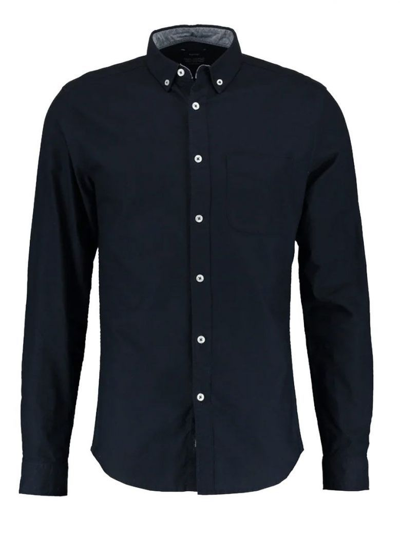 Tiffosi Navy Long Sleeve Shirt