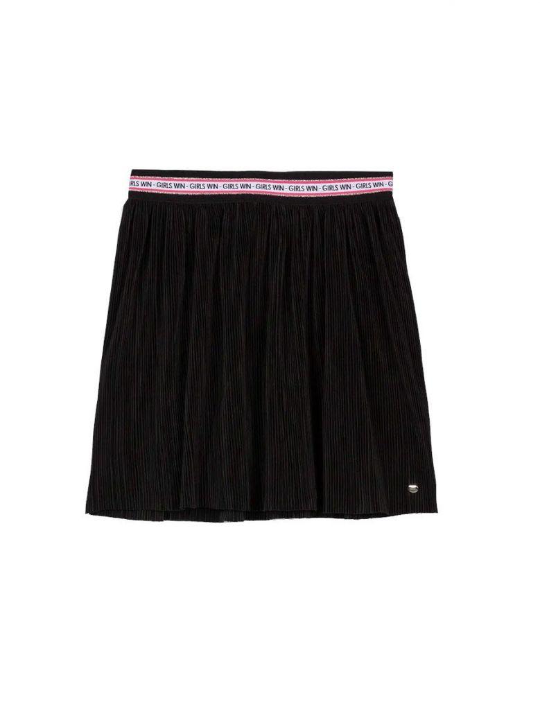 Tiffosi Black Pleated Skirt