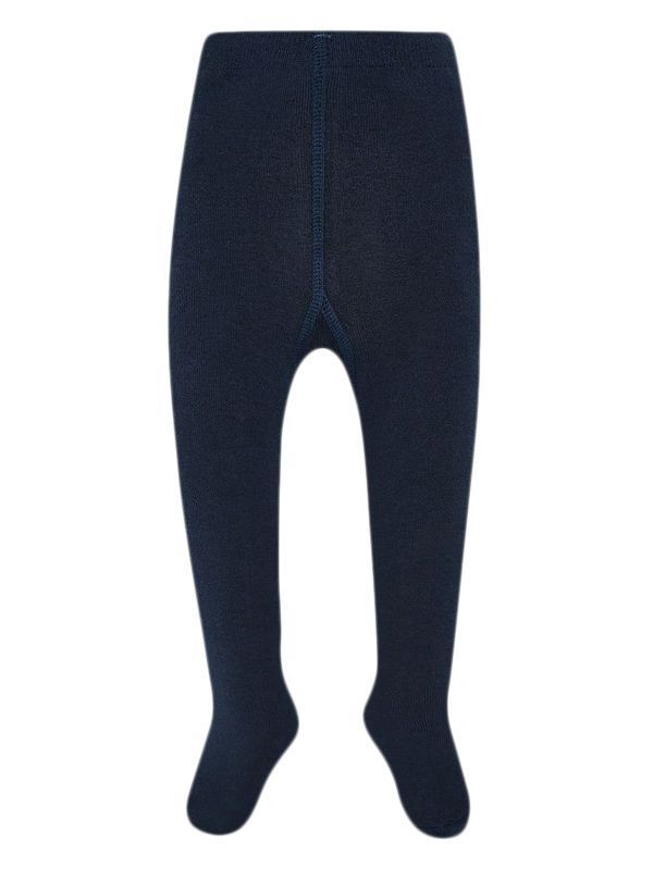 Mayoral Navy Blue Thick Woven Tights