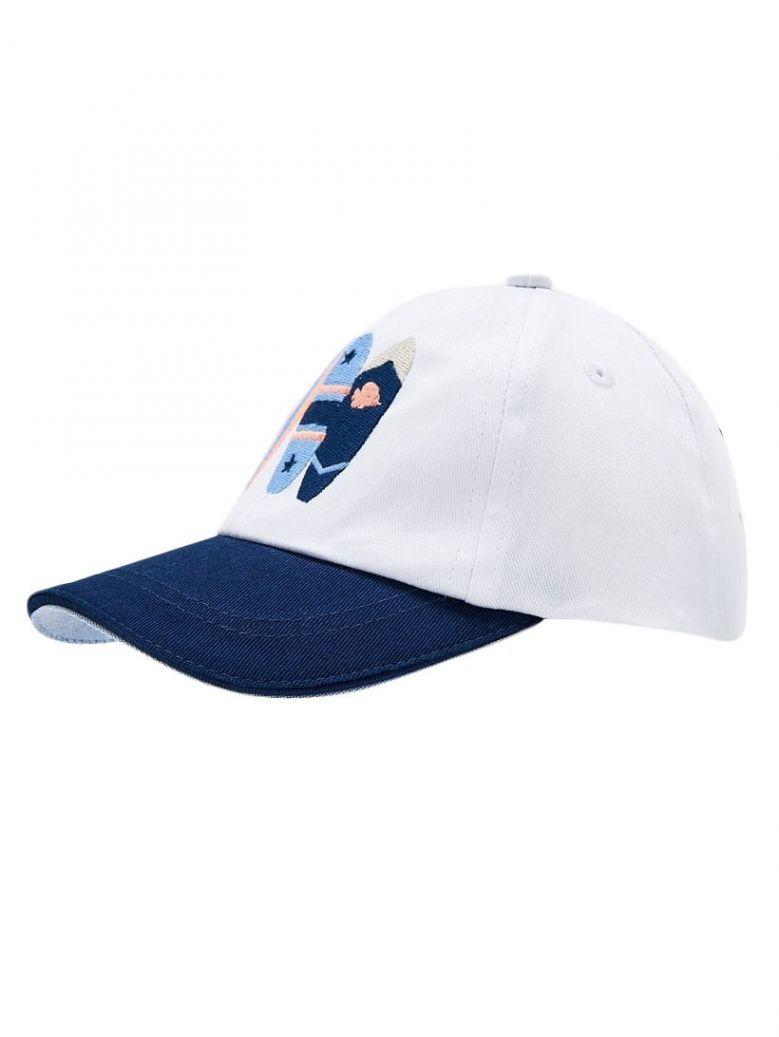 Mayoral White Surf Cap