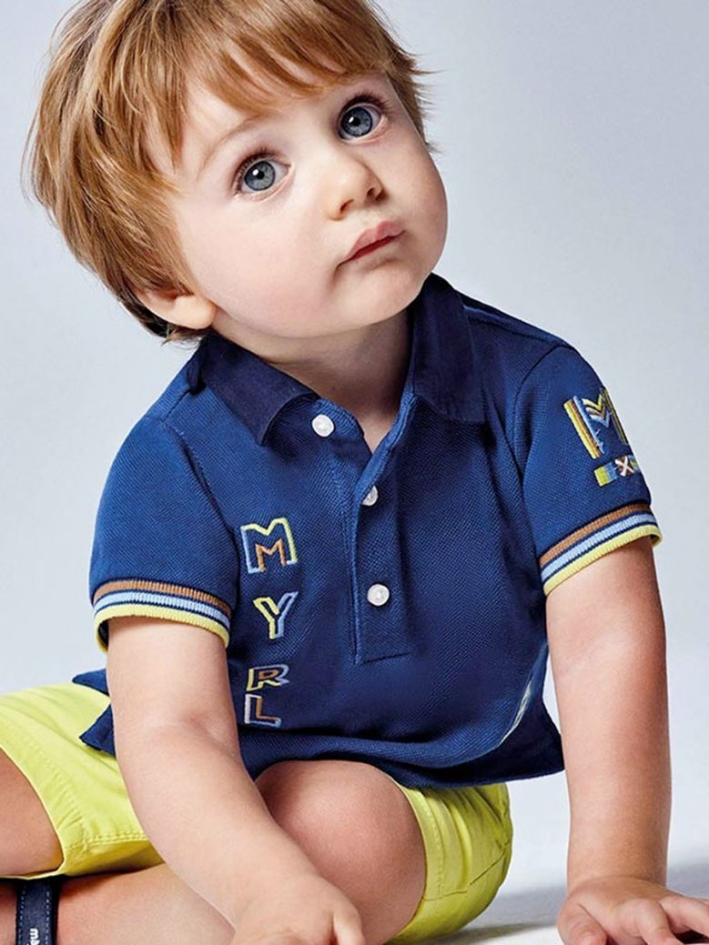 Mayoral Ultramar Embroidered Polo