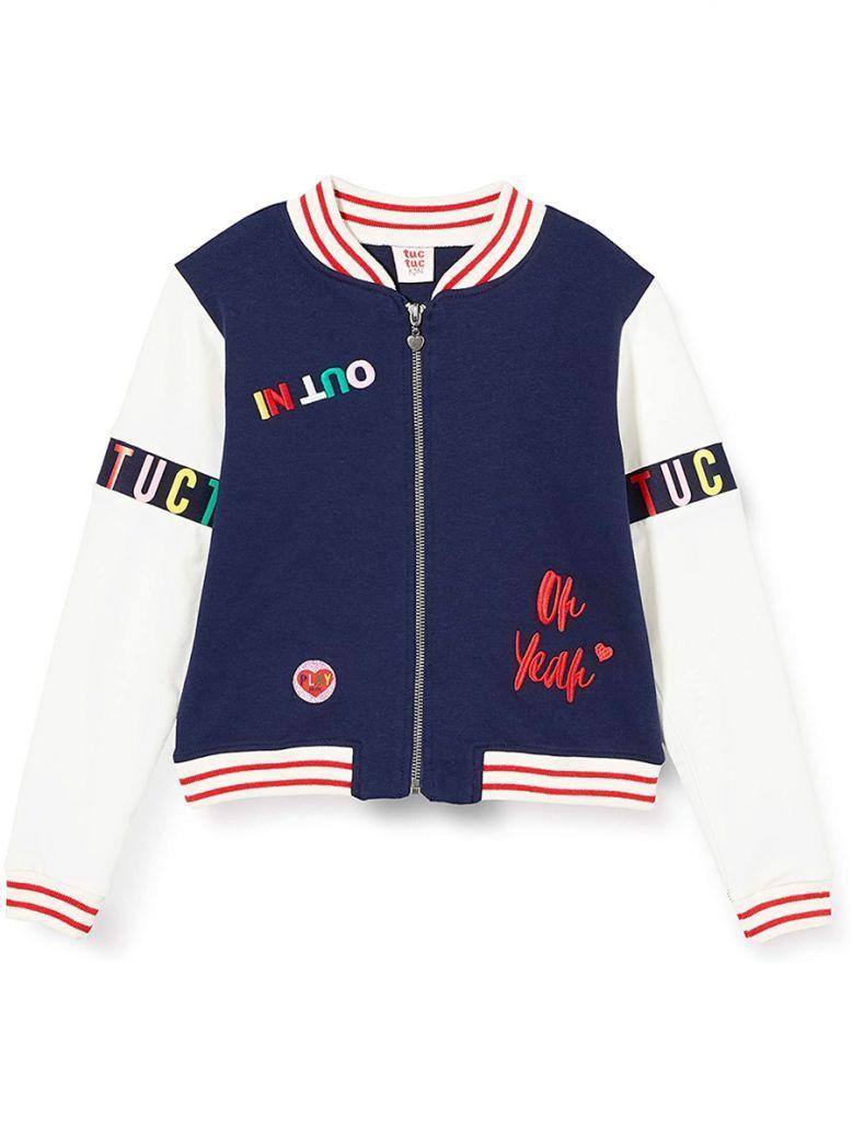 Tuc Tuc Kids Azul Bomber Jacket