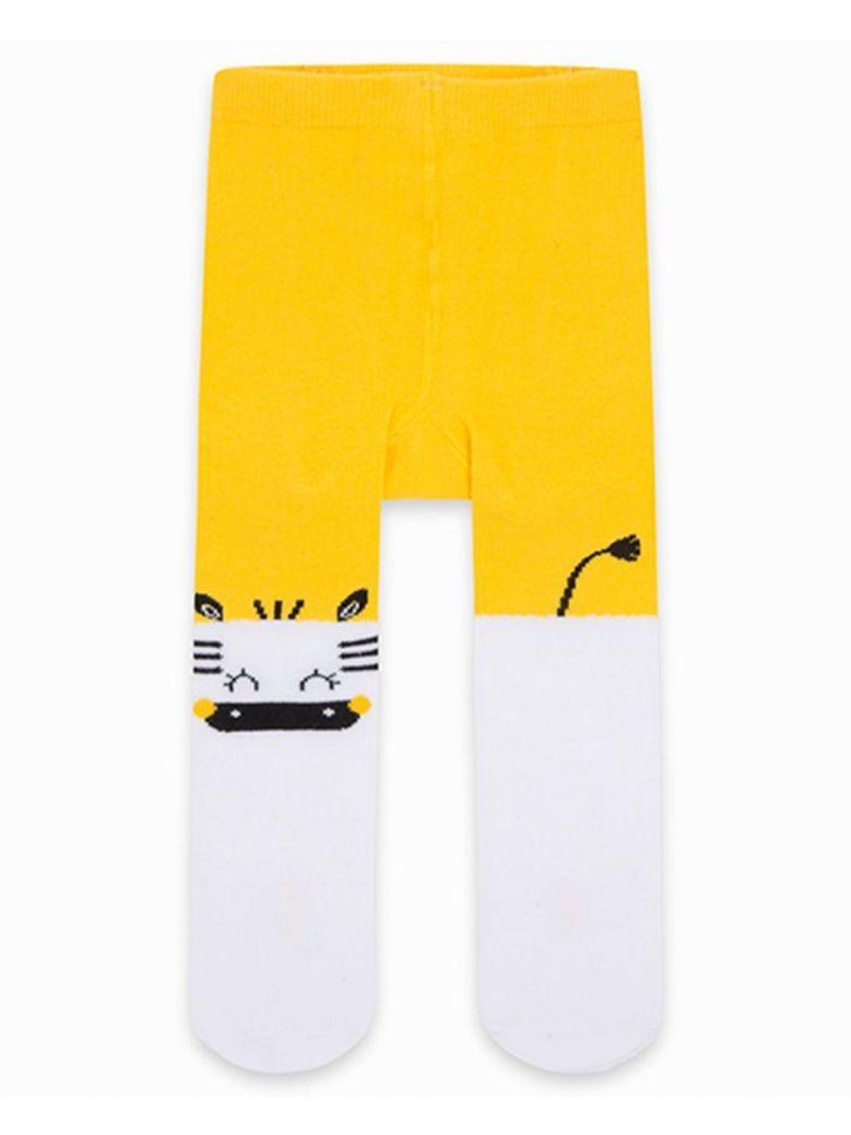Tuc Tuc Yellow Character Print Tights